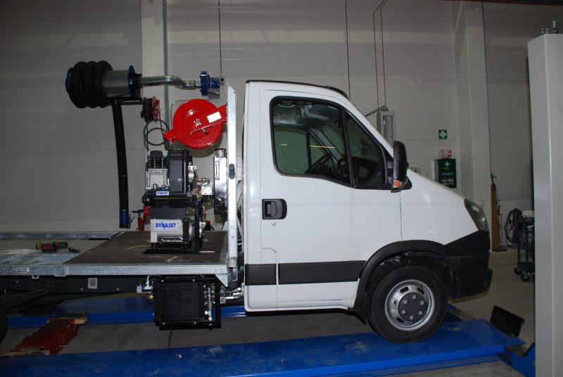 8260 generator actionat hidraulic hgv dynaset