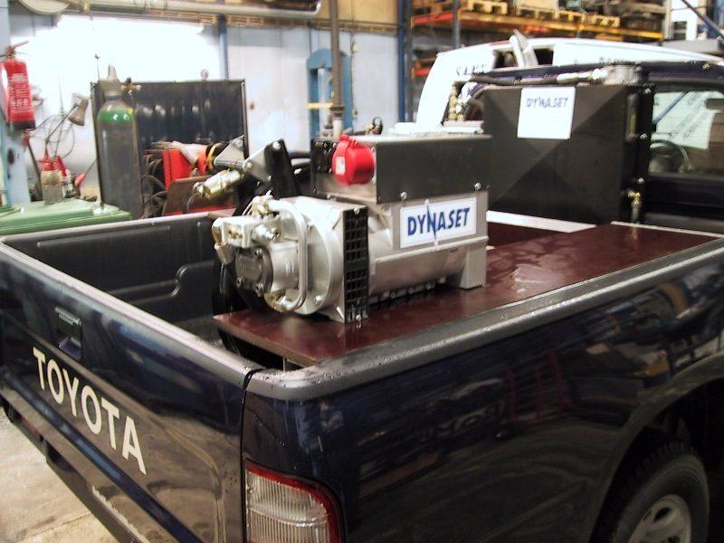 8263 generator actionat hidraulic hgv dynaset