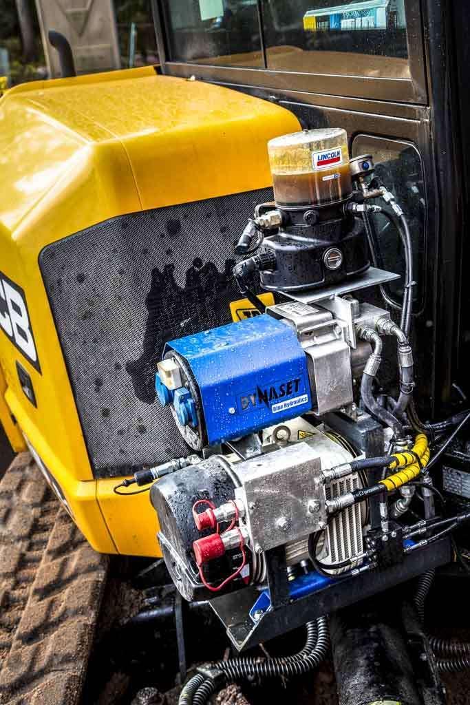 8561 compresor de aer cu sistem de rotatie actionat hidraulic hkl dynaset