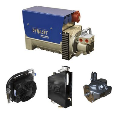 DYNASET HGV Variable Hydraulic Generator System Components web